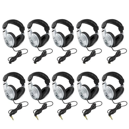 Behringer HPM-1000 Auriculares cerrados para todo uso, paquete de 10