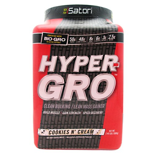 ISatori Hyper-Gro Supplement, Cookies N Cream, 2.33 Pound