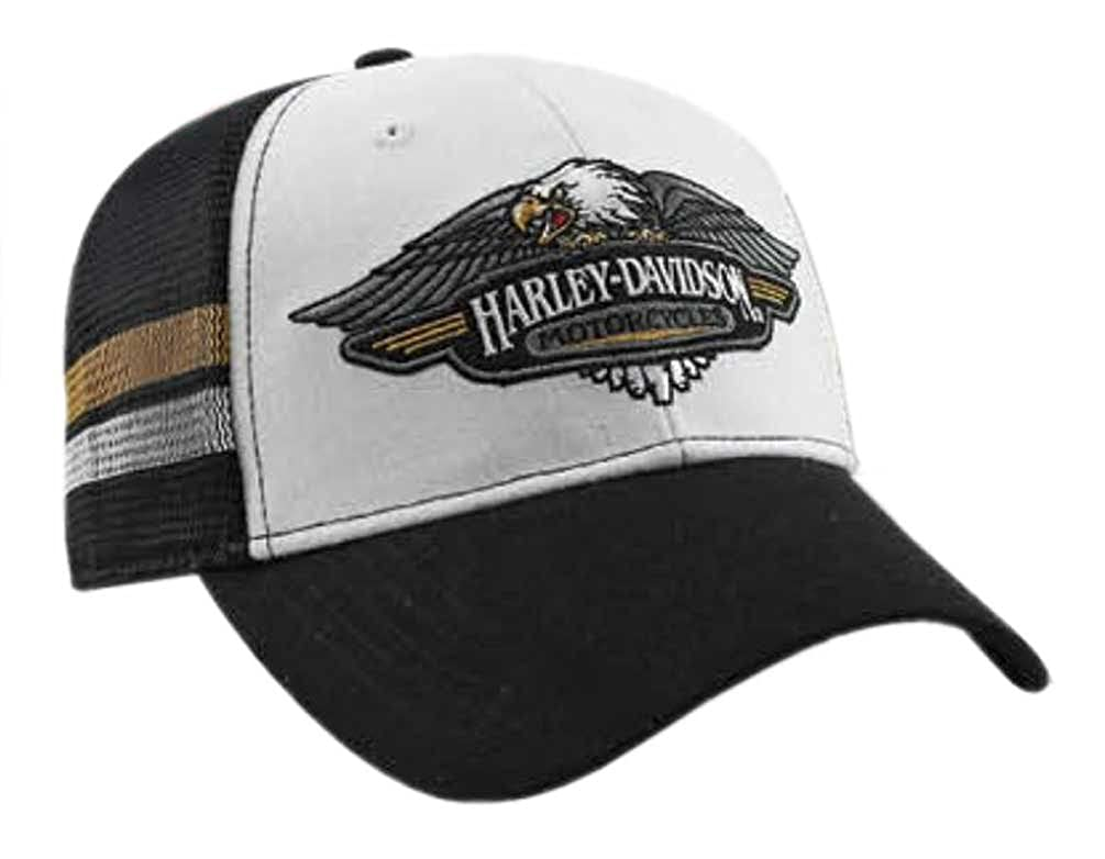 d4ff5002a7688 Harley-Davidson Mens Embroidered Vintage Logo Baseball Cap