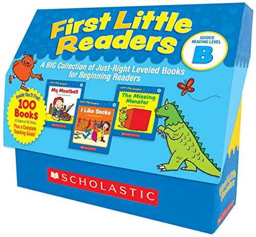 (First Little Readers: Guided Reading Level B: A Big Collection of Just-Right Leveled Books for Beginning Readers)