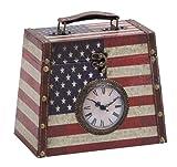 Leather Clock Box