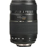 Tamron AF 70-300mm f/4.0-5.6 Di LD Macro Zoom Lens with Built In Motor for Nikon Digital SLR Cameras + Pixi-Basic Accessory Bundle