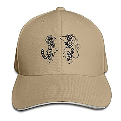 Unicorn Animal Baseball Caps Cute Durability Polo Style Hat For College Students