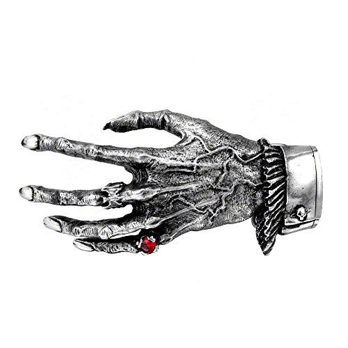 Alchemy Gothic Nosferatus Hand- Belt Buckle - Metallic - One Size (Hand Belt Buckle)