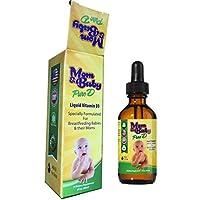 Mom & Baby Pure D Liquid Vitamin D3 Specially Formulated for Breastfeeding Ba...