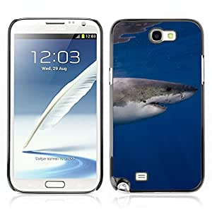 Carcasa Funda Case // Shark V0000131//Samsung Galaxy Note 2 N7100