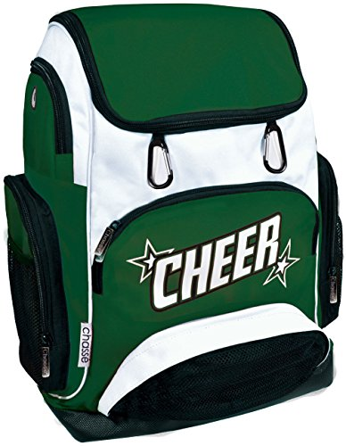 Chassé Cheer Weekender Backpack For Girls - Cheerleading Bag With 2 Color Logo And -