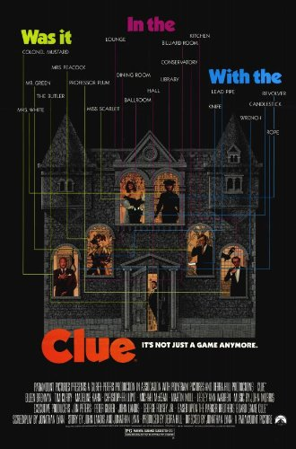 Image result for clue poster