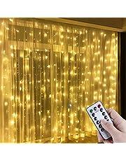 Anpro Led-lichtgordijn met USB-aansluiting