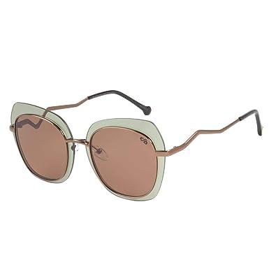 649664241 Óculos de Sol Feminino Chilli Beans Marrom 2472 OC.MT.2472.1502 P ...