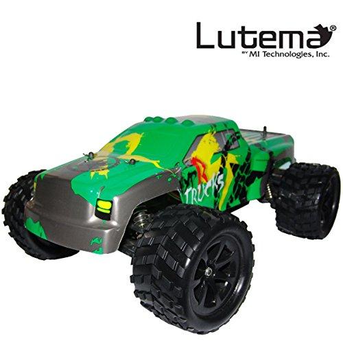 Lutema HYP-R-Baja 2.4 GHz High Speed Pickup Big Bruiser Truck, Green, One Size (Certified Refurbished) by Lutema