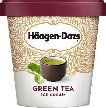 Haagen Dazs, Green Tea Ice Cream, Pint (8 Count) (Best Green Tea Ice Cream)