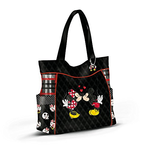 Disney Exclusively Art Officially Charm Story' With The Licensed Tote And Mickey amp; Bag From Handles Exchange Crafted Minnie Matching Dual 'love A Bradford cUEr6UWn