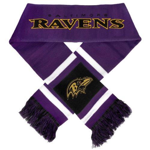 Team Stripe Scarf (NFL Baltimore Ravens 2012 Team Stripe Scarf)