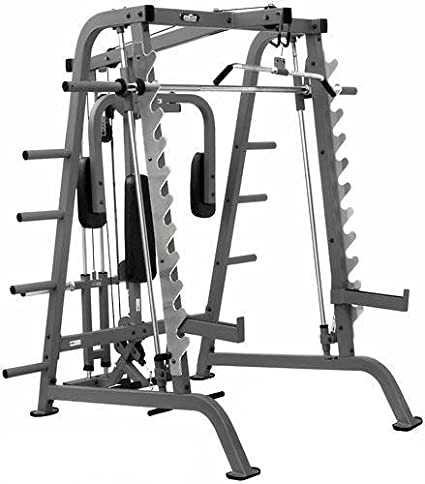 Bayou fitness e series half cage home gym smith machines amazon canada