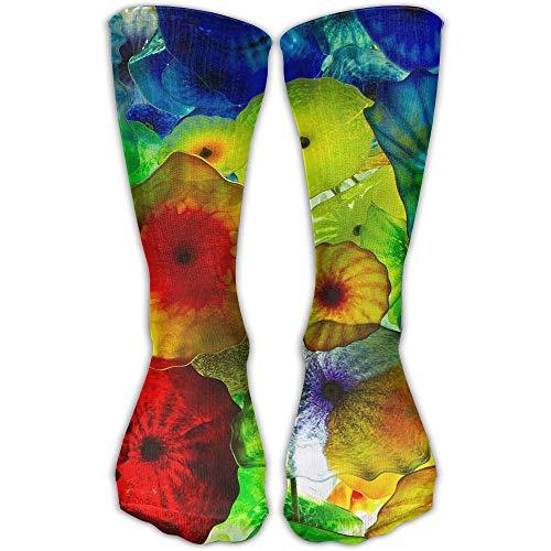 YUANSHAN Socks Colorful Jellyfish Umbrella Women & Men Socks Soccer Sock Sport Tube Stockings Length 11.8Inch
