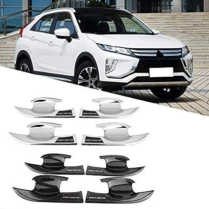 Interior Accessories New 4Pcs Exterior Door Handle Bowl Frame Cover Trim for Mitsubishi Eclipse Cross Sala-Store