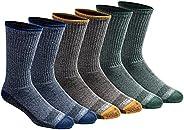 Dickies Men's Dri-tech Moisture Control Crew Socks Multi