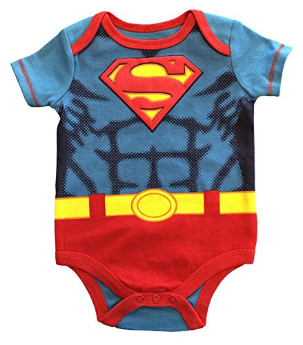 Superman Newborn Baby Boys Bodysuit Creeper (24
