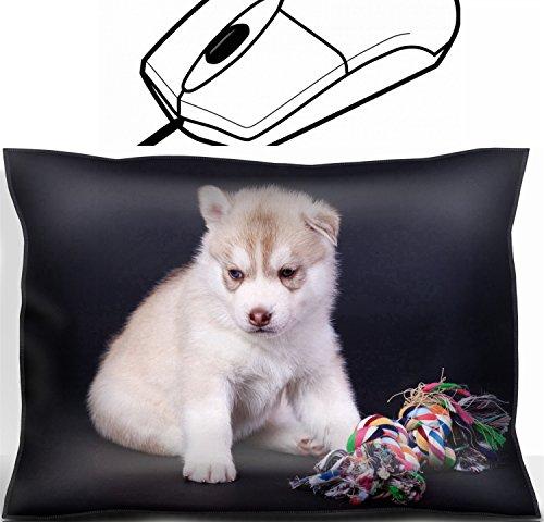 MSD Mouse Wrist Rest Office Decor Wrist Supporter Pillow design: 14757758 newborn siberian husky puppy
