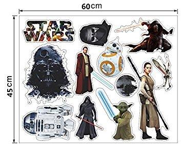 Episode Kenobi Obi 4 Costume Wan (Star wars wall stickers decals 24