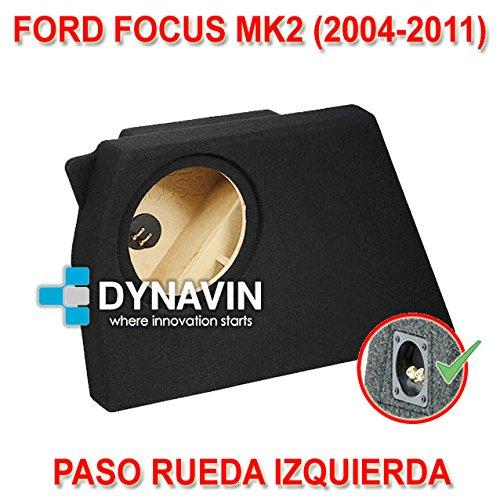 Dynavin Ford Focus MK2 (2004-2011) - Caja ACUSTICA para SUBWOOFER ESPECÍ FICA para Hueco EN EL Maletero CJ-FORD.02