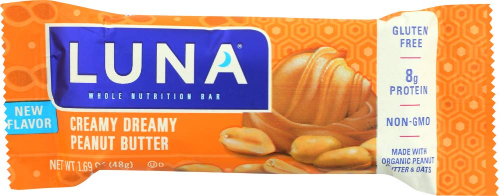 Luna Bar Peanut Butter Creamy (Pack of 6) by Generic