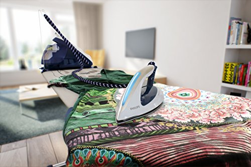 Philips GC9630/20 Perfect Care Elite Steam Generator Iron with Optimal Temperature and 470 g Steam Boost - Navy