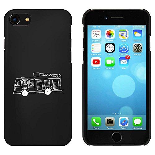Noir 'Camion de Pompier' étui / housse pour iPhone 7 (MC00060649)