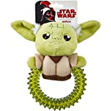 Best Star Wars Chew Toys For Dogs - Star Wars Yoda Ring Dog Toy, Small Review