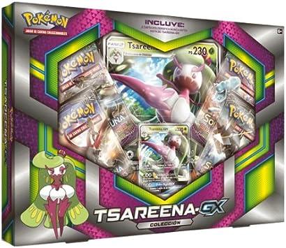 PoKéMoN- Caja colección Tsareena-GX (POGX1704): Amazon.es ...