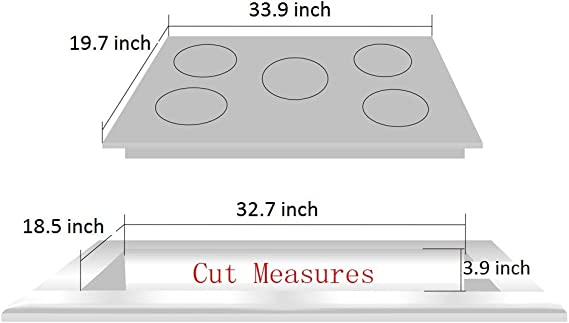 Amazon.com: Deli-kit DK258-A07 34 inch Gas Cooktop gas hob ...
