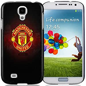 Unique And Lovely Designed Case For Samsung Galaxy S4 I9500 i337 M919 i545 r970 l720 With Manchester United Logo Samsung Galaxy S4 I9500 i337 M919 i545 r970 l720 Wallpaper Black Phone Case