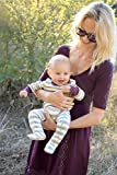 Cat-Dogma-Certified-Organic-InfantBaby-Clothes-StripeEggplant-Footie-0-3-Months