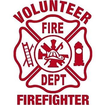 Firefighter Sticker - 4