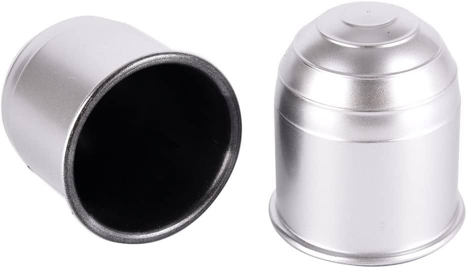 50mm Tow Ball Cover Caps Towing Hitch Caravan Trailer Towball Protect Black cl