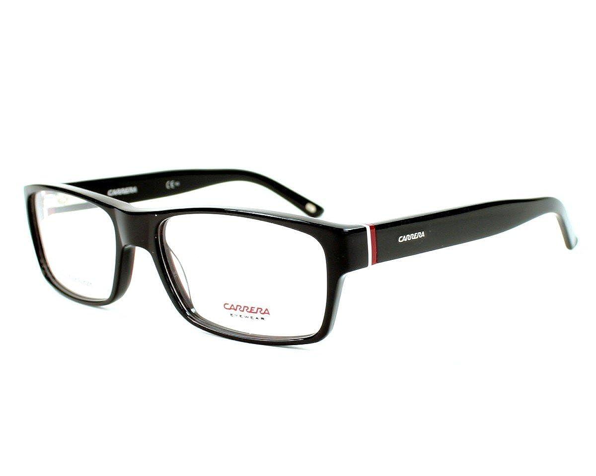 Carrera eyeglasses CA6180 OF7 Acetate Black - White