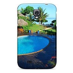 Galaxy S4 MoKkVcU2624PJhYM Beautiful Tropical Pool Tpu Silicone Gel Case Cover. Fits Galaxy S4