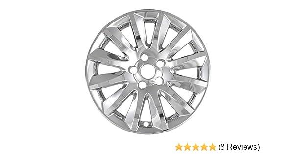 Premium OEM Style Chrome Wheel Skins for 2011-2014 Chrysler 300 Base Pack of 4 17