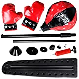 VIVOHOME Boxing Punching BallBag Set with