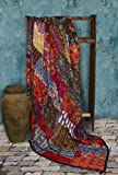Handmade Queen-size [94 x 94] New Design Mixed Huipile Patchwork Quilt
