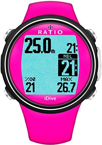 Ratio iDive Sport Easy Dive Computer, Pink