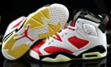 Best Fat Garage Basketball Shoes - Air jordan VI 6 Retro Carmine Red White Review
