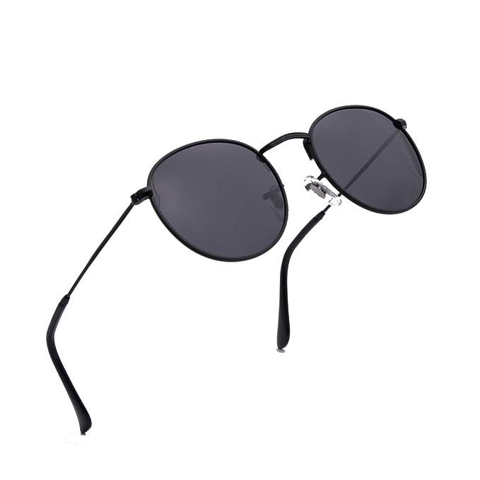 Amazon.com: ENSARJOE - Gafas de sol clásicas con lentes ...