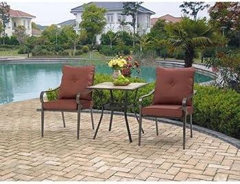 Mainstays Charleston Park 3 Pc. Bistro Furniture Set