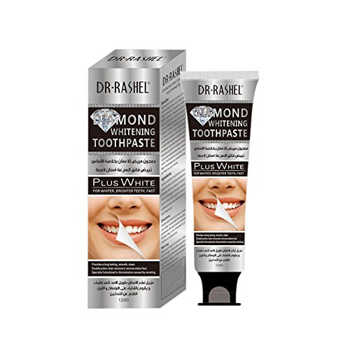 Diamond Whitening Toothpaste Removing Smoke Stains and Preventing Cavities,Gingivitis Oral Care 120 g