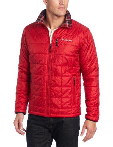Columbia Men's Big Half Life Reversible II Jacket, Red Velvet, 4X