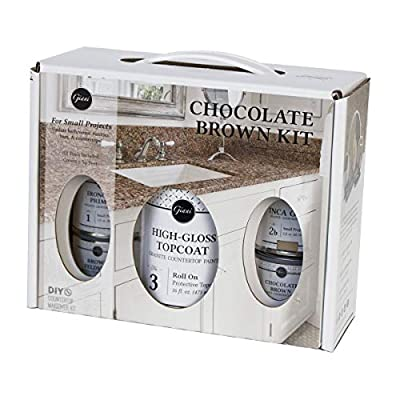 Giani Granite Small Project Paint Kit, Chocolate Brown