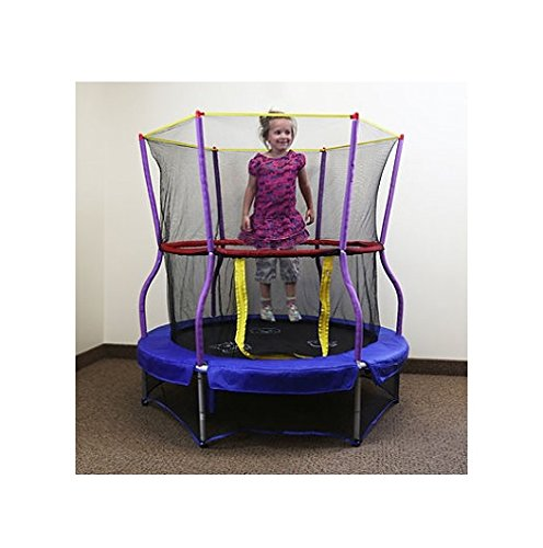 Skywalker-Trampolines-Bounce-N-Learn-Interactive-Trampoline-wSafety-Enclosure