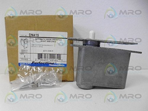 Von Morris Door Hinges - Thomas & Betts Perfect-Line DN415 Automatic Door Light Switch ON Switch,